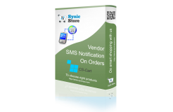 Vendor SMS Notification on Orders Add-on